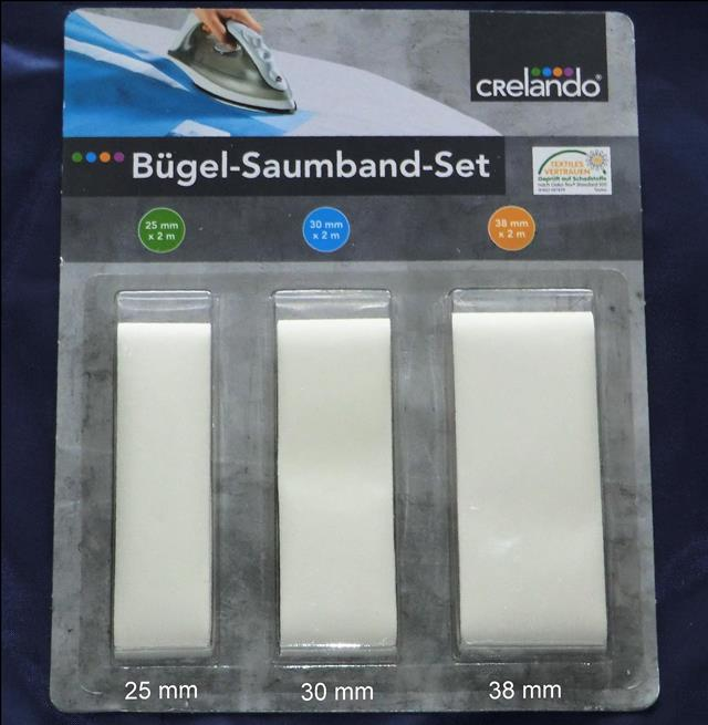b gel saumband set 3 teilig 25 mm 30 mm 38 mm b gelband fixierband ebay. Black Bedroom Furniture Sets. Home Design Ideas
